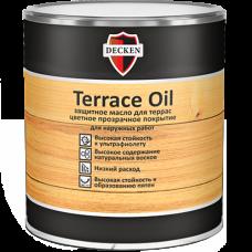Защитное масло для террас Decken Terrace Oil
