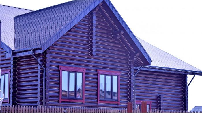 Дом коричневый Сартаково НО